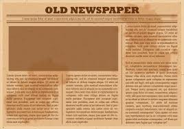 old newspaper template business template