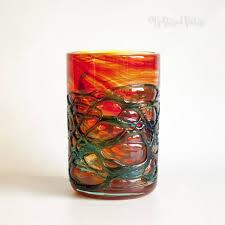 Vintage Orange Glass Vase 141 Best Art Glass Images On Pinterest 1960s Mid Century And