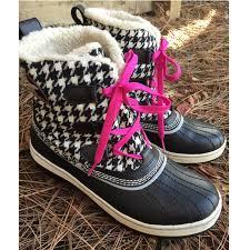 sorel s tivoli boots size 9 46 sorel shoes sorel tivoli houndstooth boot from
