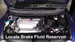 power steering fluid honda civic 2006 2011 honda civic brake fluid level check 2008 honda civic