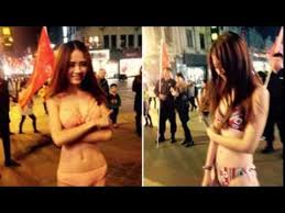 chinese bar could get fined for scantily clad women youtube