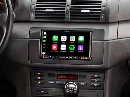 si e auto 2 3 7 mobile media system for bmw 3 series e46 featuring apple carplay