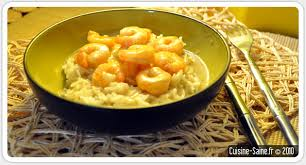 recette de cuisine saine recette gambas au lait de coco menus équilibrés au quotidien et