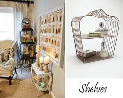 How To Decorate A Birdcage Home Decor Repurposed Bird Cages In Home Decor Furnish Burnish