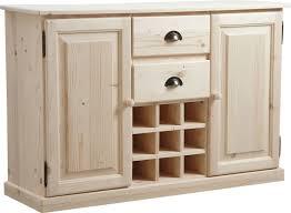 buffet de cuisine en bois buffet de cuisine socle avec rangement bouteilles sur armoires
