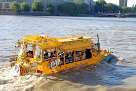 amphibious vehicle duck thames river london duck tours will end from next month metro news