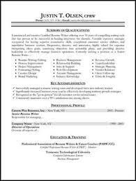 Resume With Summary Use A Target U003ca Href U003d