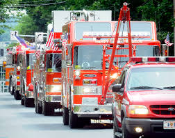 fire parade kicks off at 2 p m saturday in lancaster township