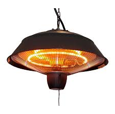 Fire Sense Hammer Tone Bronze Commercial Patio Heater by Eco Friendly Outdoor Heaters