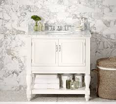 single sink console vanity newport single sink console pottery barn
