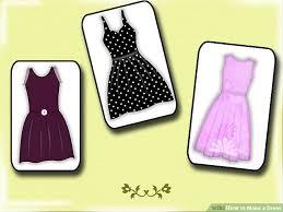 3 ways to make a dress wikihow