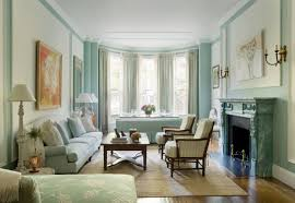 livingroom boston pale blue living room in a boston brownstone interiors by color