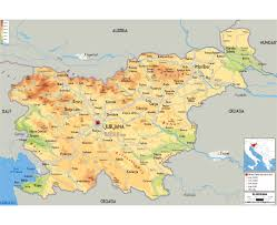 Italy Map With Cities by Maps Of Slovenia Detailed Map Of Slovenia In English Tourist