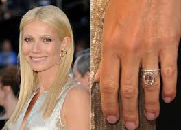 chris martin and gwyneth paltrow wedding famous asscher cut engagement rings ritani
