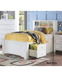 spectacular deal on mallowsea 30415f full size bed with storage