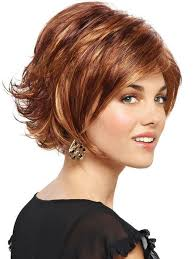 short layered flipped up haircuts out layers on short hairstyle