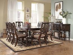 Ashley Furniture Kitchen Tables Home Design 79 Awesome Dark Wood Dining Tables