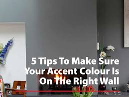 5 tips to make sure your accent color is on the right wall