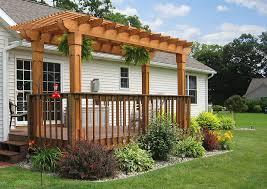 Wood For Pergola by Mendoza Wood Pergola Amish Yard