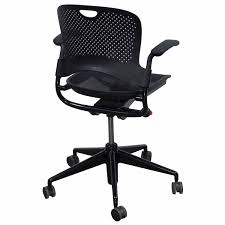 Caper Stacking Chair Herman Miller Caper Used Xr Multipurpose Chair With Flexnet Black