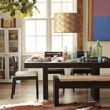 Modern Dining Room Table With Bench Dining Tables Modern Dining Room Table Centerpiece Ideas Floral