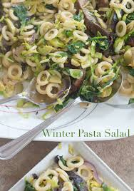 winter pasta salad with portobello mushrooms vegan healing