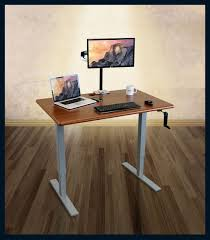 Stand Of Table Lamp Magnificent Rectangle White Metal Sit Stand Desk Chrome Cool Table
