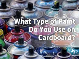 what of paint do you use to paint oak cabinets what type of paint do you use on cardboard cardboard help
