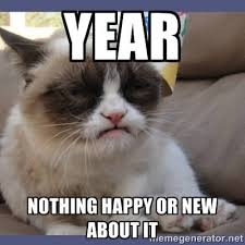 Happy New Year Cat Meme - happy new year greeting cards 2018 home facebook