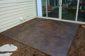 How To Remove Spray Paint From Concrete Patio Incridible How To Paint Concrete Patio Has Concrete Patio Ideas