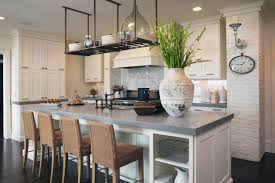 antique kitchen ideas wooden chairs with white cabinet using grey kitchen countertop