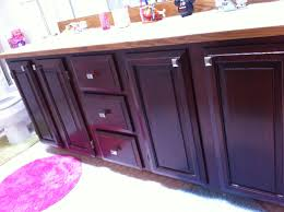 Stain Colors For Kitchen Cabinets by Furniture Simple Dark Kitchen Cabinets With General Finishes Gel