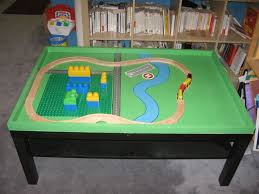 Lego Table Ikea by Ikea Hack Site A How To For Building A Lego Train Table Spawn