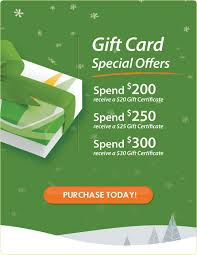 gift card offers sanctuary day spas what s new news photos gift card special