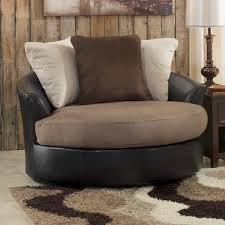 Armchair Side Table Ottoman Exquisite Furniture Alluring Oversized Chairs With