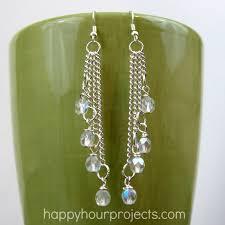 make dangle earrings easy cascade dangle earrings happy hour projects