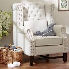 High Back Chairs For Living Room High Back Club Chair Foter