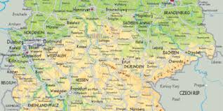 map of germany and surrounding countries with cities map of germany and surrounding countries with cities