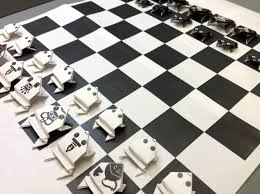 Diy Chess Set Free Origami Frog Paper Print Your Own Jumping Frog Chess