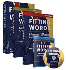 christian products fitting words classical rhetoric for the christian student