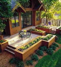 Deck Garden Ideas 16 Best Landscaping Ideas Images On Pinterest Gardening