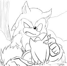 sonic the hedgehog coloring page sonic the werehog coloring pages sonic the werehog coloring pages