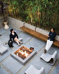 concrete backyard design outdoor concrete projects contemporary