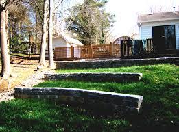 glamorous cheap landscaping border ideas for backyard retaining
