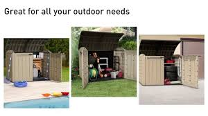 Keter Woodland 30 Keter Store It Out Ultra Garden Storage Box Xxl Youtube