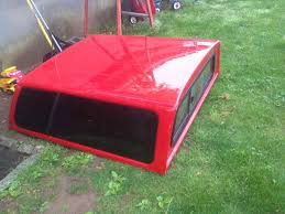 Ford Ranger Truck Canopy - leer small pickup truck cap red in nj pirate4x4 com 4x4 and