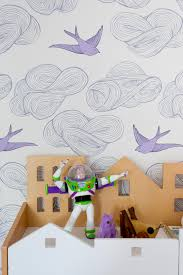 kid tastic spaces 2017 faces of design hgtv playful girl s bedroom with dream like wallpaper