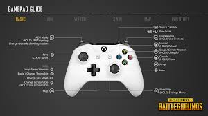 pubg deadzone pubg this is how the control setup is going to work on xbox one