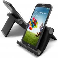 bureau noir laqué support de bureau universel pour tout smartphone noir