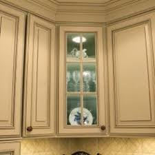 Frameless Kitchen Cabinets With Portsmouth Door Style In Knotty - Enamel kitchen cabinets